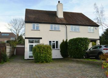 Thumbnail 3 bed semi-detached house for sale in Reigate Road, Ewell, Epsom