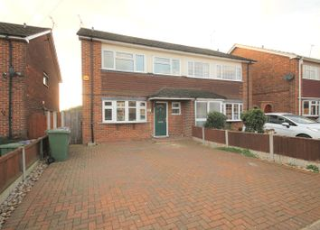 Thumbnail 4 bed semi-detached house for sale in Somerset Road, Linford, Stanford-Le-Hope, Essex
