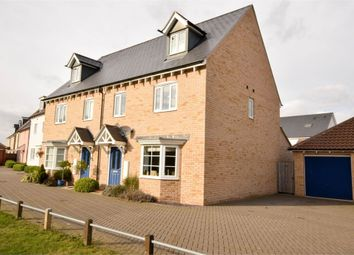 Thumbnail 4 bed town house for sale in Lungley Rise, Colchester, Essex
