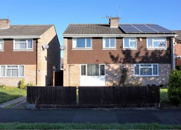 Thumbnail 3 bed semi-detached house for sale in Quantock Close, Warmley