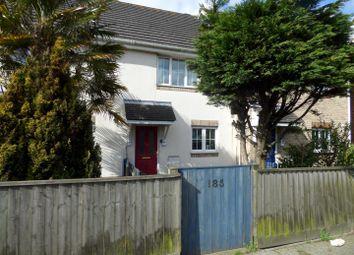 Thumbnail 2 bedroom terraced house for sale in Fernside Road, Oakdale, Poole