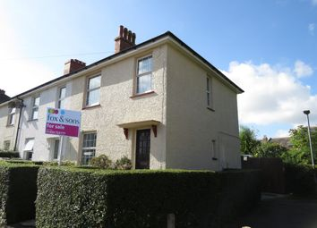 Thumbnail 3 bed end terrace house for sale in Eversley Crescent, St. Leonards-On-Sea