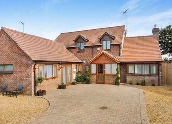 Thumbnail 4 bedroom detached house for sale in Spencer Drove, Guyhirn, Wisbech