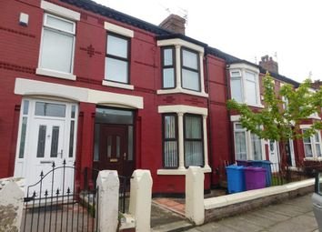 Thumbnail 4 bedroom terraced house to rent in Craigs Road, Liverpool