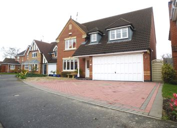 Thumbnail 4 bed detached house for sale in Hilda Close, Quarrington, Sleaford