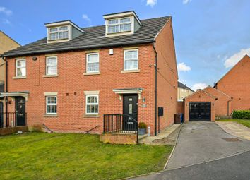 Thumbnail 3 bed semi-detached house for sale in 25 Park Crescent, Rotherham