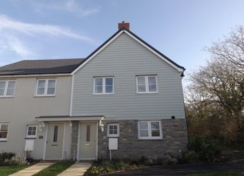 Thumbnail 3 bed property to rent in Webbers Meadow, Woodbury, Exeter