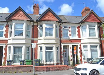 Thumbnail 3 bed terraced house for sale in New Zealand Road, Heath/Gabalfa, Cardiff