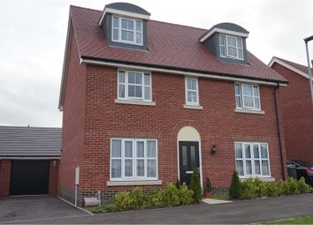 Thumbnail 5 bedroom detached house for sale in Brooke Way, Stowmarket