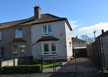 Thumbnail 2 bedroom end terrace house for sale in 328 Tweedsmuir Road, Glasgow