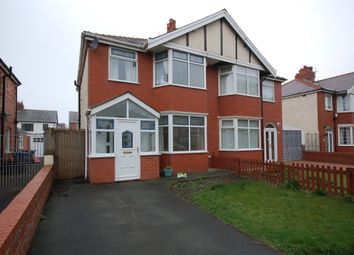 Thumbnail 3 bed semi-detached house for sale in Harrington Avenue, Blackpool