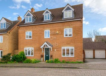 Thumbnail 5 bedroom detached house for sale in Eardley Place, Grange Farm, Milton Keynes