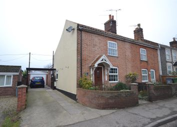 Thumbnail 2 bedroom terraced house for sale in Hevingham, Norwich