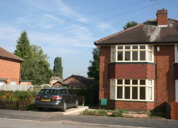 2 bed semi-detached house to rent in Kendon Avenue, Sunnyhill, Derby DE23