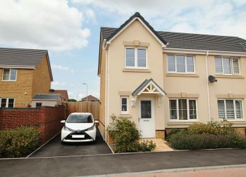 Thumbnail 3 bed semi-detached house to rent in Bryn Meurig, Llanharry