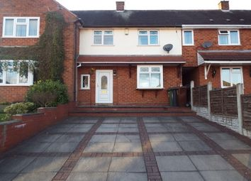 Thumbnail 3 bed terraced house to rent in Palmer Close, Essington, Wolverhampton