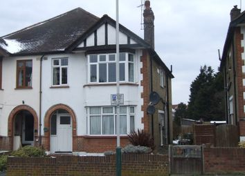 Thumbnail 2 bed flat for sale in Lodge Avenue, Gidea Park, Romford