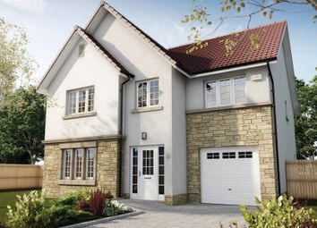 "Thumbnail 4 bedroom detached house for sale in ""The Crichton"" at Hillview Gardens, Nivensknowe Park, Loanhead"