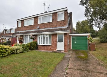 Thumbnail 3 bed semi-detached house to rent in Hedgerow Close, Crediton, Devon