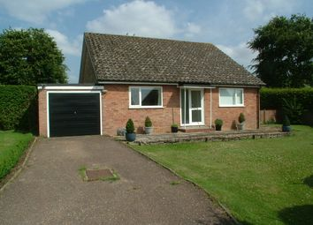 Thumbnail 2 bed detached bungalow for sale in Kensington Close, Saxlingham Nethergate, Norwich