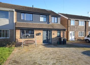 Thumbnail 4 bed semi-detached house for sale in Mallows Drive, Raunds, Wellingborough, Northamptonshire