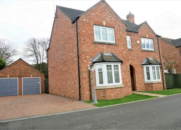 Thumbnail 5 bed detached house for sale in The Tramway, Outwell, Wisbech