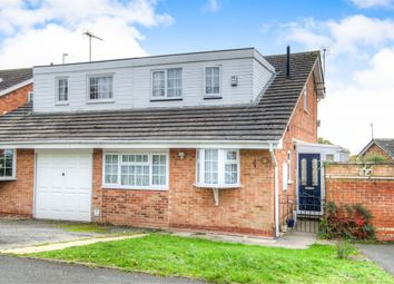 Thumbnail 3 bed semi-detached house for sale in Kingscote Close, Church Hill North, Redditch
