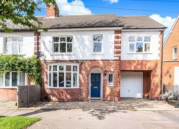Thumbnail 4 bedroom semi-detached house for sale in West View Avenue, Glen Parva, Leicester