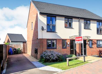 Thumbnail 3 bed semi-detached house for sale in Piper Lane, Peterborough