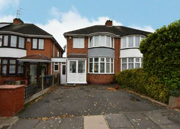 Thumbnail 3 bed semi-detached house for sale in Steyning Road, Yardley, Birmingham
