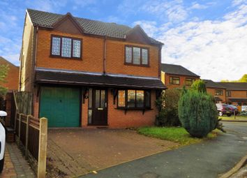 Thumbnail 4 bed detached house for sale in Greenslade Grove, Hednesford, Cannock
