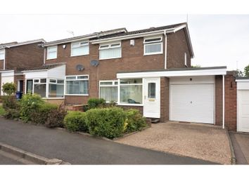 Thumbnail 3 bedroom semi-detached house for sale in Kelson Way, Newcastle Upon Tyne