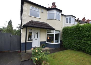 Thumbnail 3 bed semi-detached house to rent in Roundhay Grove, Chapel Allerton, Leeds