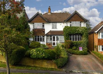 Thumbnail 5 bed detached house for sale in Chipstead Way, Banstead, Surrey