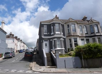 Thumbnail 3 bed end terrace house to rent in Hyde Park Road, Mutley, Plymouth