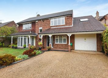 Thumbnail 4 bed detached house for sale in Darlow Drive, Biddenham, Bedford