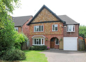 Thumbnail 4 bed detached house for sale in Woodcote Road, Leamington Spa
