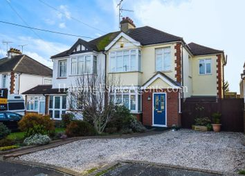 Thumbnail 4 bed semi-detached house for sale in Victor Gardens, Hockley, Essex