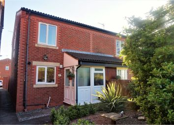Thumbnail 2 bed semi-detached house for sale in Calverton Close, Toton