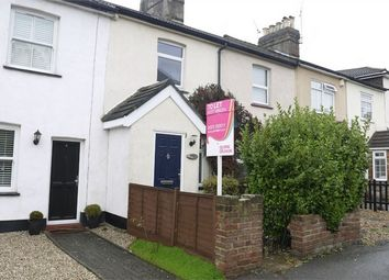 Thumbnail 2 bed terraced house to rent in Cromwell Road, Warley, Brentwood, Essex