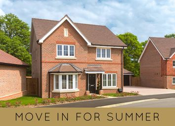 "Thumbnail 3 bed detached house for sale in ""The Hambledon"" at Amlets Lane, Cranleigh"