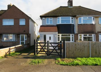 Thumbnail 2 bed semi-detached house for sale in Herschel Crescent, Littlemore, Oxford