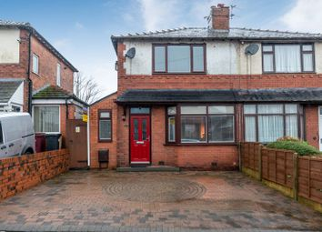 Thumbnail 3 bed semi-detached house for sale in Weldon Avenue, Middle Hulton, Bolton, Lancashire.