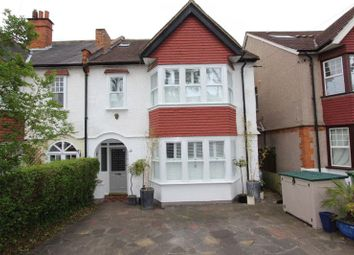 Thumbnail 6 bed semi-detached house for sale in The Crescent, Belmont, Sutton