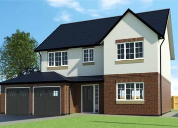 Thumbnail 4 bed detached house for sale in Summit View, Almond Way, Hope, Wrexham