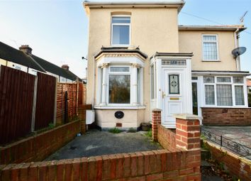 Thumbnail 2 bed semi-detached house to rent in Stanhope Road, Swanscombe