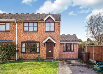 Thumbnail 4 bed semi-detached house for sale in Bishops Close, West Felton, Oswestry, Shropshire