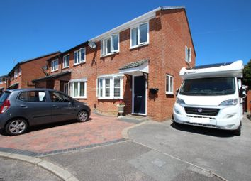 Thumbnail 3 bed semi-detached house for sale in Wessex Close, Mudeford