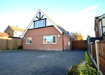 Thumbnail 3 bed bungalow for sale in Badgers Holt, Oadby, Leicester