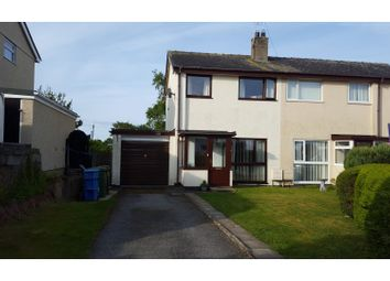 Thumbnail 3 bed semi-detached house for sale in Groeslon, Caernarfon